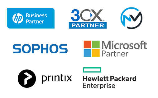 Reef IT Partners Logos Stacked